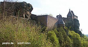 The ruined castle of Aggstein, one of the most impressive attractions of the Wachau