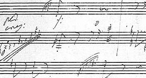 Annotations by Ludwig van Beethoven