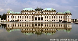 The Belvedere, the most important palace designed by Lukas von Hildebrandt