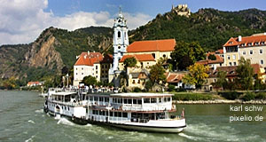 Dürnstein in the Wachau River Valley: Typical for the Wachau, but not for Lower Austria in General