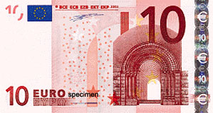 The Euro bills were designed by an Austrian artist called Kalina. Did a pretty good job in my opinion.