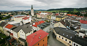 Freistadt in the Mühlviertel - the very remote part of Upper Austria