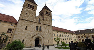 The Monastery of Seckau is famous for its Romanesque gates