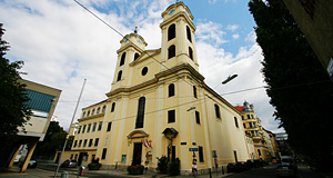 The Pfarrkirche Lichtental claims to have particularly close ties to Franz Schubert