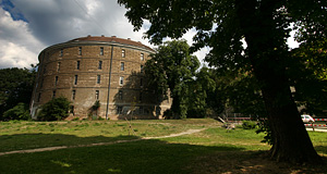 The Narrenturm in the Altes AKH Vienna is an 18th century hospital for mentally ill and now a museum