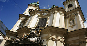 The Peterskirche is one of Vienna′s most important Baroque churches and the masterpiece of Lukas von Hildebrandt
