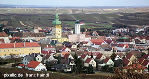 The Lower Austrian town of Retz - famous for its wine culture