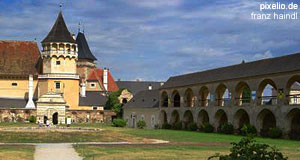 The Rosenburg Castle in Lower Austria - one of Austria′s most popular destinations for day-trips