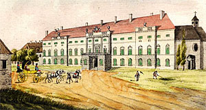 Schloss Alterlaa in Vienna in its prime days - Baroque times