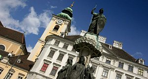 The Schottenstift Monastery, the only abbey of Vienna