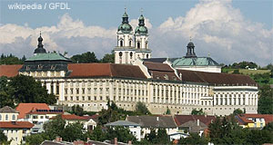 The monastery of St. Florian just outside of Linz is a gem of Baroque architecture