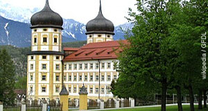 The monastery of Stams is a popular destination for day-trips from Innsbruck