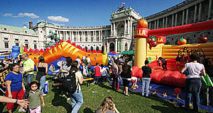 Touring Vienna with children? Plenty of things to see.