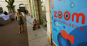 The Zoom Kindermuseum is a Museum especially for children and can be found in the Museumsquartier