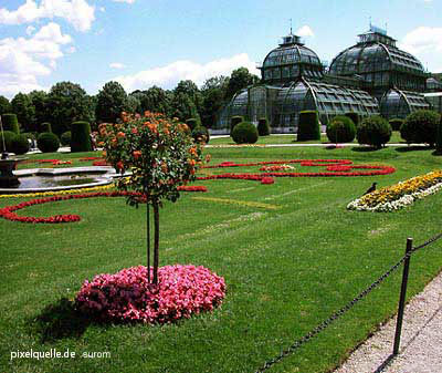 The Palmenhaus green house is part of the Schönbrunng Palace and thus a UNESCO World Cultural Heritage