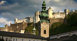 St Peter in Salzburg - the oldest Catholic monastery outside of Italy