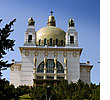 The Kirche am Steinhof in Vienna is considered to be Otto Wagner's masterpiece