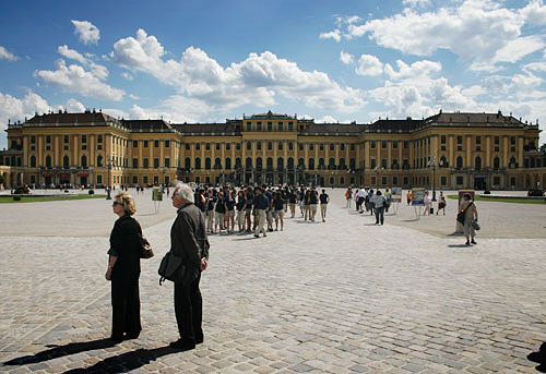 Schloss Schönbrunn, the Imperial Palace of Vienna